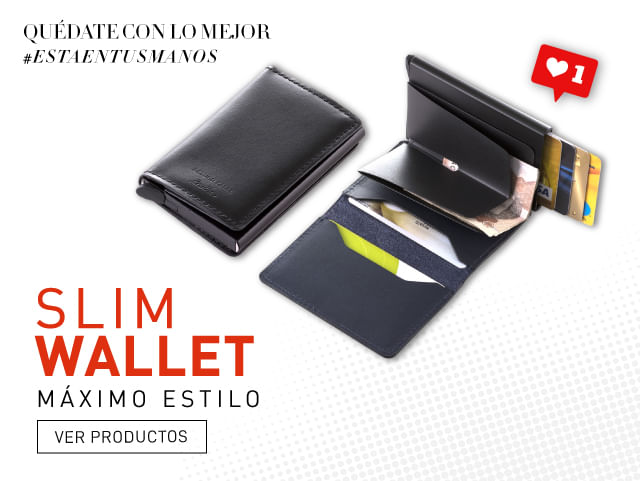 Billetera Slim Wallet ARTURO CALLE