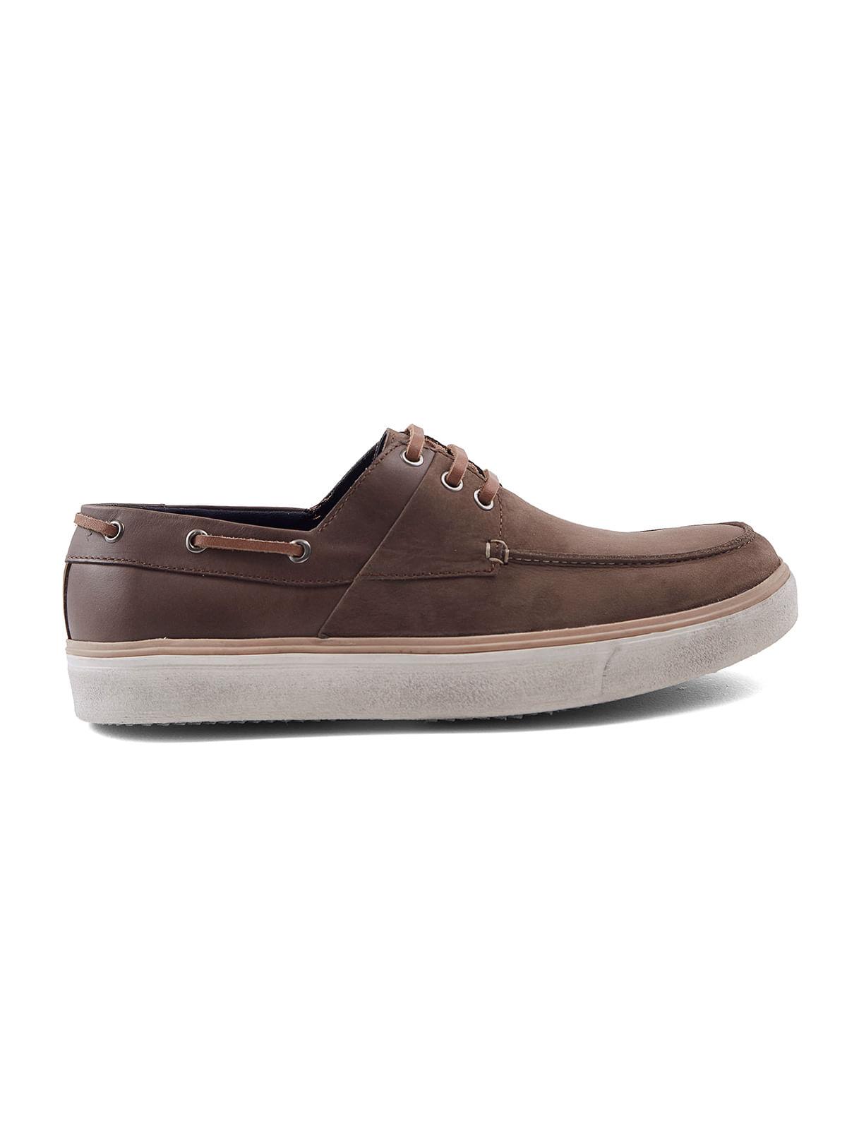 Zapato Casual 79114 Náutico De Cuero Estilo Arturo Calle rCqPOrwdx