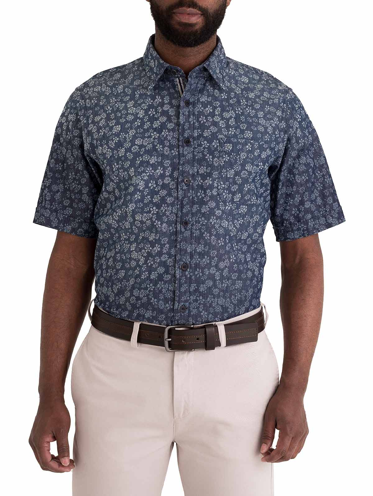 fcc543a20 Camisa Casual Regular Fit Manga Corta 82562 - Arturo Calle