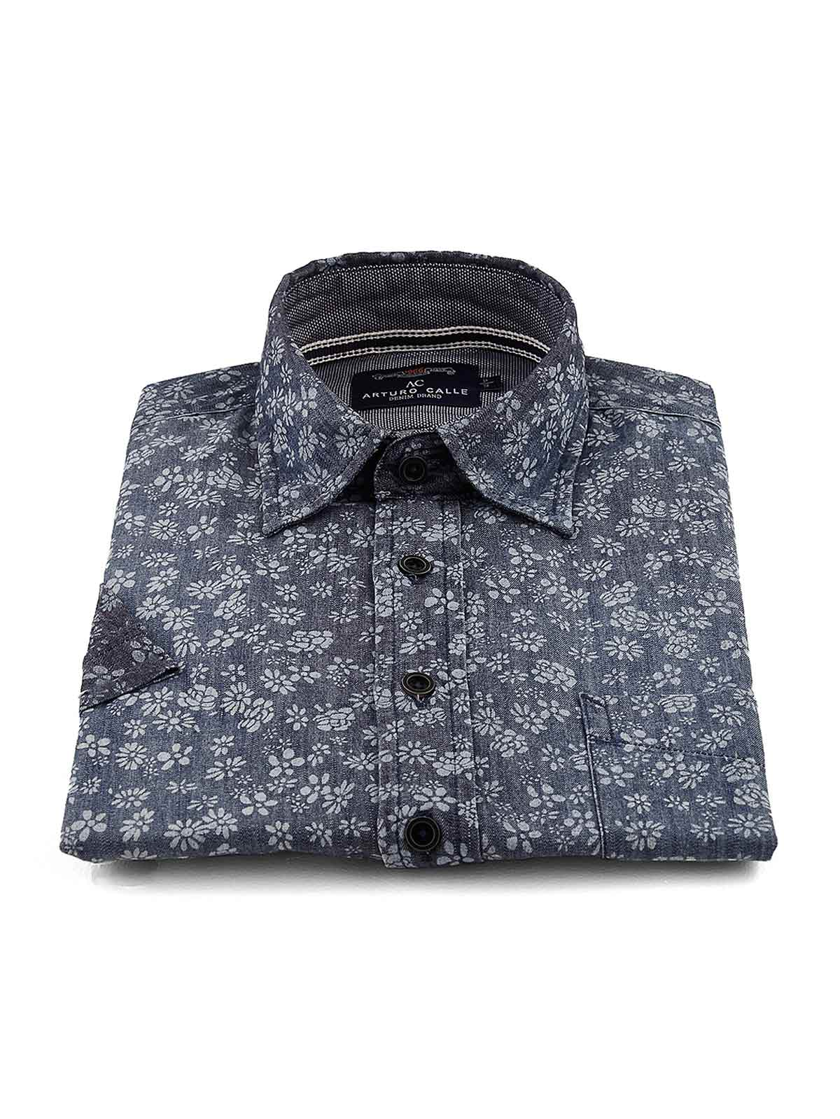 Camisa Regular Calle Corta Arturo 82562 Manga Fit Casual SHqxrwSZ