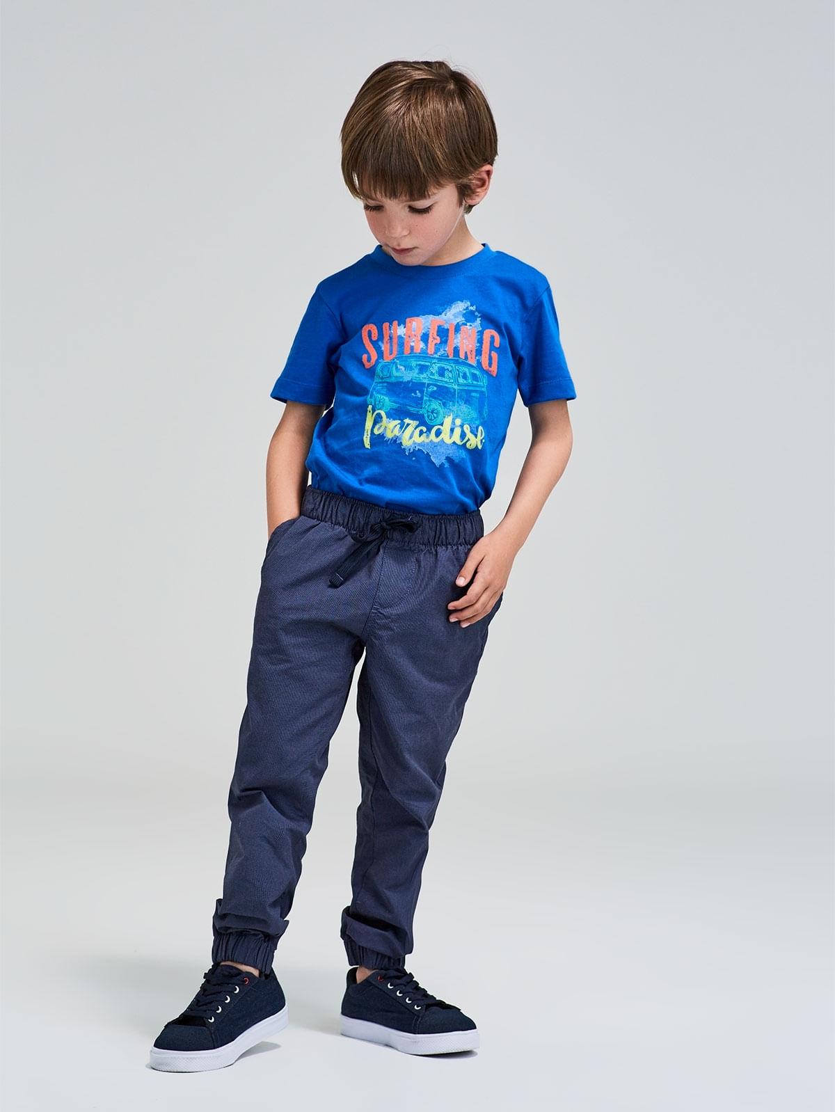 f1fece9906d89 Camiseta Básica Estampada para Niño 06363 - Arturo Calle