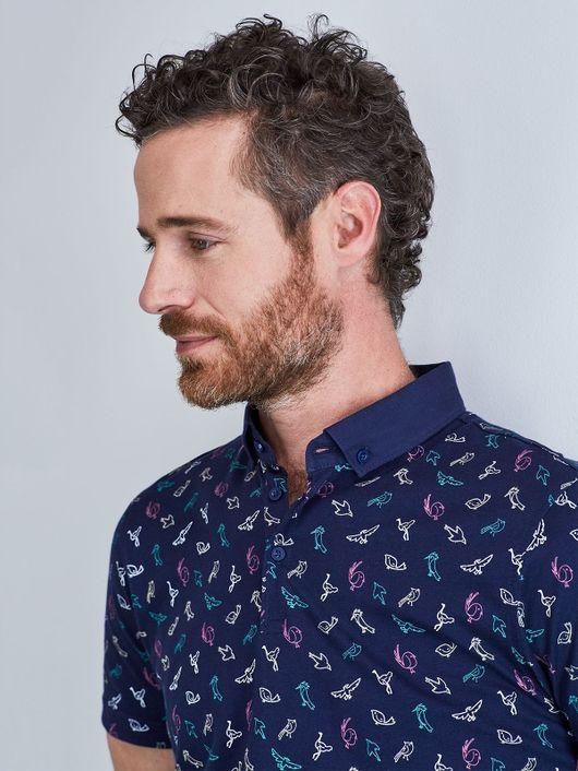 Camisetas Tipo Polo para Hombre  0ddebc85d09a6