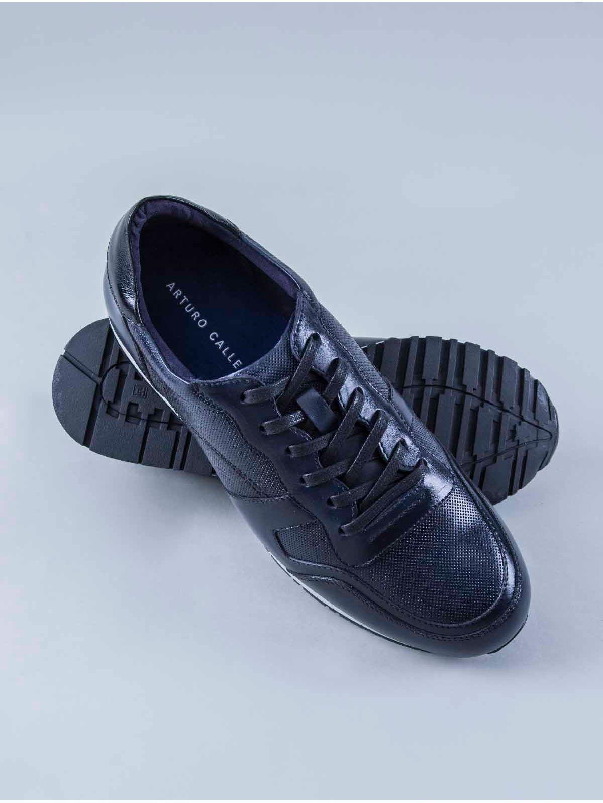 a2a89c24 Zapato Tipo Sneaker Suela en Contraste con Cordones 81811 - Arturo Calle