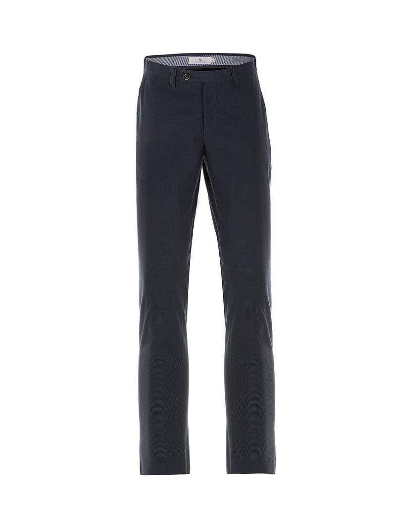 Pantalón Business Casual 903 Unicolor Slim Fit para Hombre ...