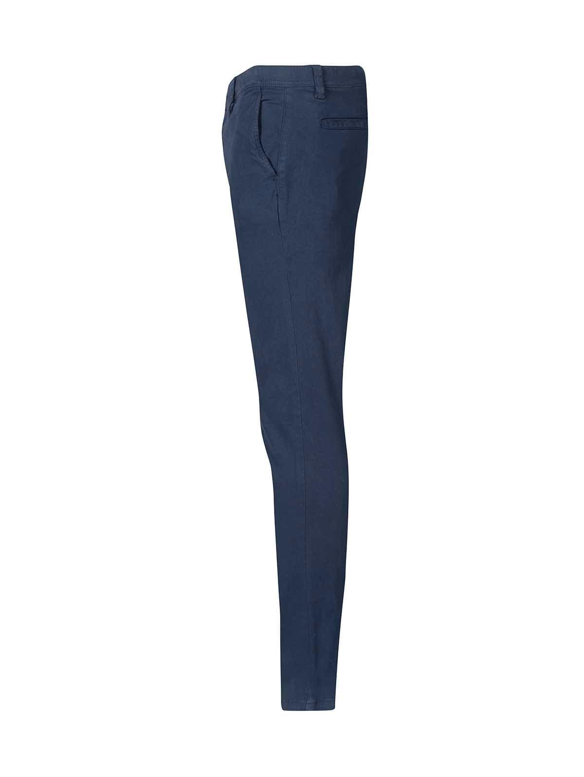 Pantalon Tipo Chino Unicolor Slim Fit Para Hombre Freedom 00724 Arturo Calle