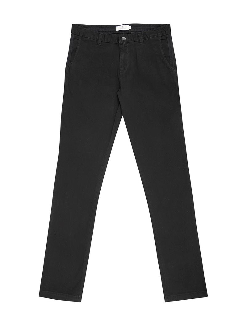 Pantalón Chino Slim Unicolor para Hombre 03688 - Arturo Calle